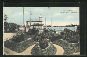 AK Alicante, Jardines de la Explanada