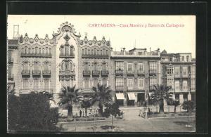 AK Cartagena, Casa Maestre y Banco de Cartagena