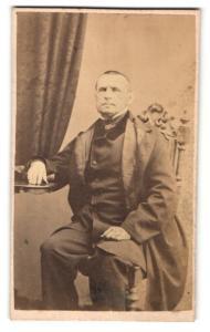 Fotografie Portrait Adalbert Eisert Bürgermeister in Rumburg