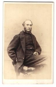 Fotografie John Moffat, Edinburgh, Portrait Captain Rutherford