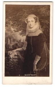 Fotografie Portrait Queen Mary, Maria Stuart Königin von Schottland
