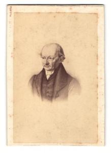 Fotografie Lutze & Witte, Berlin, Portrait Verleger Friedrich Christoph Perther