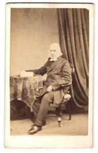 Fotografie Atelier Knott, Edinburgh, Portrait Reverend J. McIven