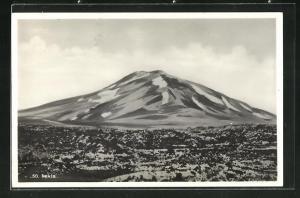 AK Island, Blick auf den Vulkan Hekla