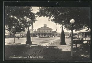 AK Karlskrona, Jubileumsutställningen 1930, Ausstellungsgelände