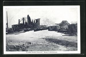 AK Richmond, Terrible Halifax Disaster, Ruinen