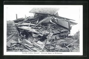 AK Richmond, Terrible Halifax Disaster, wrecked Home, Ruine nach Explosion