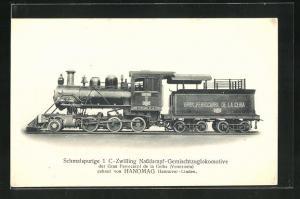AK Schmalspurige 1 C-Zwilling Nassdampf-Gemischtzuglok der Gran Ferrocarril de la Ceiba, Hanomag
