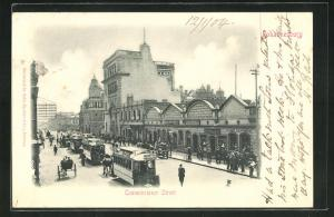 AK Johannesburg, Commissioner Street, Strassenbahn