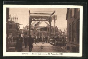 AK Borculo, Na de cycloon op 10 Augustus 1925, Wirbelsturm