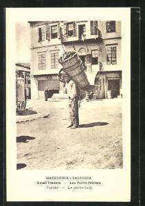AK Salonica / Saloniki, Le porte-faix, Träger