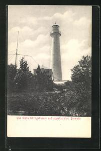 AK Bermuda, The Gibbs Hill Light-House, Leuchtturm