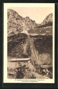 AK Andorra, Funicular d`Engolasters, Bergbahn