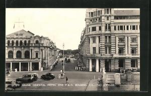 AK Colombo, The Grand Oriental Hotel and P. & O. Building