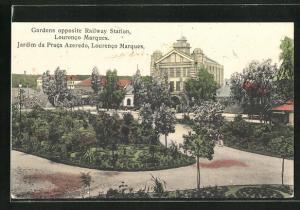 AK Laurenco Marques, Gardens opposite Railway Station
