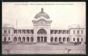 AK Laurenco Marques, Offices of Railway Administration and Entrance to Station