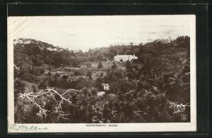 AK St. Helena, Government House und Landschaft