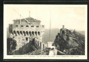 AK San Marino, Le tre Torri viste dalla Torre Campanaria della Rocca