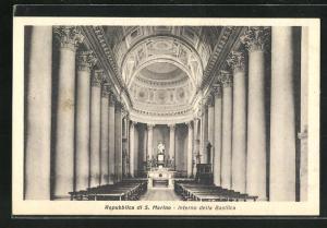AK San Marino, Interno della Basilica