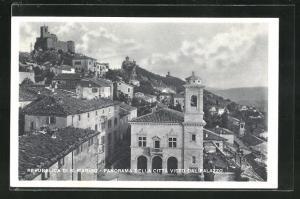 AK San Marino, Panorama della Citta Visto Dal Palazzo