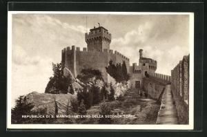 AK San Marino, Interno della Seconda Torre