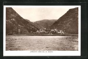 AK Jamestown, Panorama from Sea