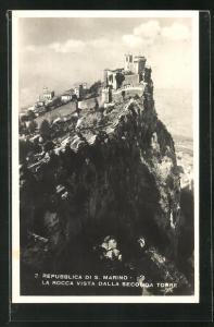AK San Marino, La Rocca vista dalla Seconda Torre