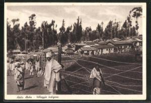AK Addis Abeba, Villaggio indigeno