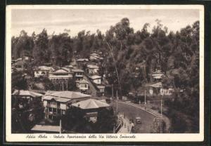 AK Addis Abeba, Veduta Panoramica della Via Vittorio Emanuele