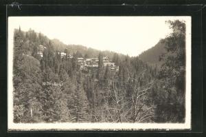 AK Nathiagali, Blick auf das Bergdorf