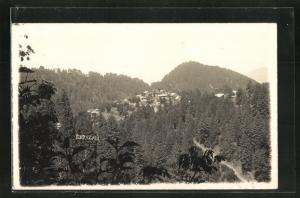 AK Baragali, Blick auf das Bergdorf
