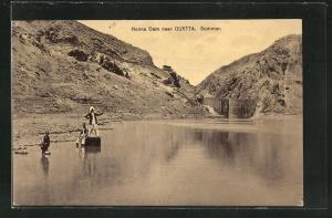 AK Quetta, Honna Dam, Am Staudamm