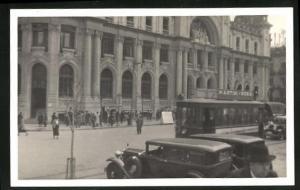AK Valencia, Strassenbahn in der Innenstadt