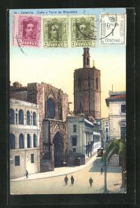 AK Valencia, Calle y Torre de Miguelete