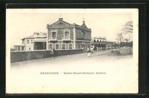 AK Freetown, Water Street Railway Station, Bahnhof