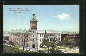 AK San Juan, Estacion del Ferrocarril, American Railroad Station, Bahnhof