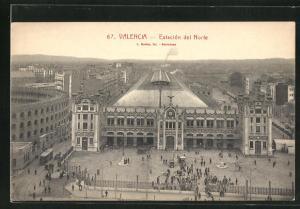 AK Valencia, Estacion del Norte, Bahnhof