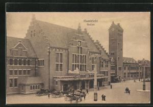 AK Maastricht, Station, Bahnhof
