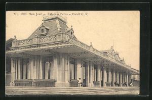 AK San José, Estacion Ferro, Bahnhof