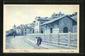 AK San Marino, Stazione della Citta, Bahnhof