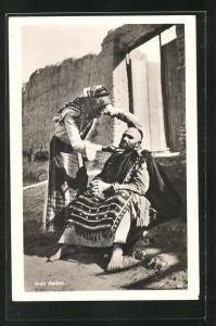 AK Baghdad, arabischer Friseur und Bartschneider