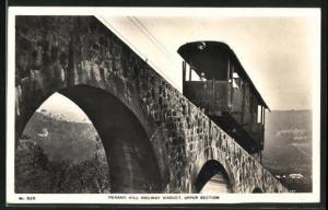 AK Penang, Hill Railway Viaduct, Upper Section, Bergbahn