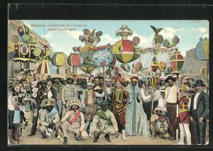 AK Habana, Comparsa de Carnaval, Karnevals-Umzug