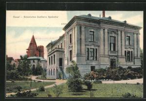 AK Basel, Botanisches Institut und Spalentor