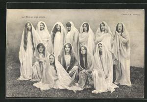 AK Mezieres, Theatre du Jorat, La Nuit des Quatre-Temps 1912, Le Choer des ames