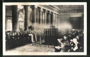 AK Trastevere, S. Maria, I funerale di S.E. il Cardinale Gasquet