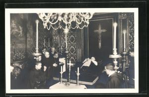 AK La Salma di S. E. il Cardinale Gasquet