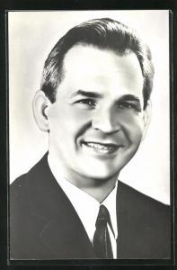 AK Portrait des Kosmonauten Waleri Nikolajewitsch Kubassow