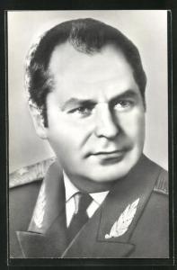 AK Portrait des Kosmonauten German Stepanowitsch Titow