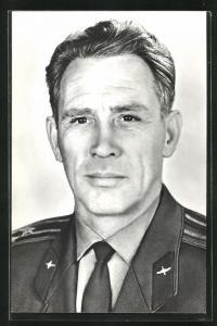 AK Portrait des Kosmonauten Lew Stepanowitsch Djomin